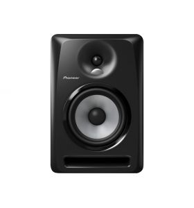 "Pioneer DJ S-DJ60X Bi-Amped 2-Way 6"" Active DJ Monitor 120W Each BLACK"