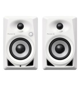 "Pioneer DJ DM-40-W 2-Way 4"" Active Desktop Monitor 21W PAIR"