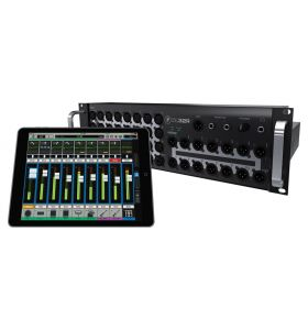 Mackie DL32R 32Ch Wireless Digital Sound Rack Mixer iPad Control 3U