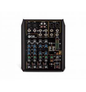 RCF F6X 6Ch 2-Mono +2-Stereo i/p 16 Preset Mixer