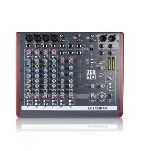 Allen & Heath ZED10 4-Mic/Line 2-Stereo i/p USB & AmpliTube X-Gear SW