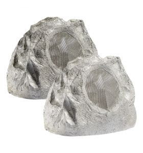 Lithe Audio Bluetooth Outdoor Garden Rock Speaker (Pair)