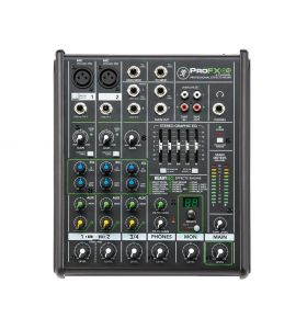 Mackie ProFX4V2 4Ch Mixer with I/O GEQ and Effects