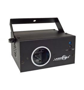 Laserworld EL230RGB Red Green Laser Effect with 4 Beam Apertures