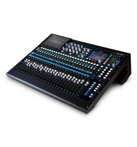 Allen & Heath QU24 30-In and 24-Out Dig Mix with Motorised Faders CHROME