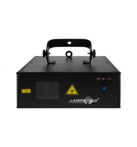 Laserworld EL400RGB QS Multi Colour Laser with Ultra Bright Royal Blue
