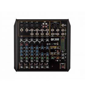 RCF F10XR 10Ch 4-Mono +4-Stereo i/p 16 Preset Mixer+Compressors