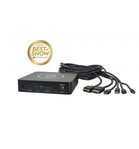 DigitaLinx BYOD-HUB-UT Connection Hub (6x1 under table BYOD auto-switcher / scaler)