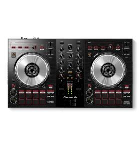 Pioneer DDJ-SB3 DJ Controller with Scratch Pad for Serato DJ Pro